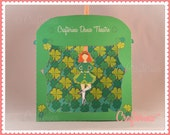 Irish Step Dance Puppet Theater PDF - St. Patrick's Day - Shamrock - Paper Craft - Educational Activity - Instant Download - Green