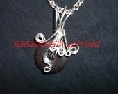 Reserved Listing for Lisa:  Custom Necklace inspired by Inara Serra