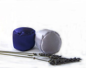 Organic Lavender Stressed Ball Scented - bridesmaid gift - home spa favor -wedding favor -one each.