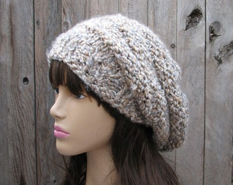 Knit Hat - Slouchy  Hat -Multicolored - Winter Accessories Autumn Accessories Fall Fashion
