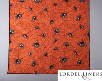 Spiders and Spider Webs Large Table Runner