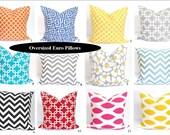 EURO PILLOW SHAM.24x24 inch.Pillow Cover.Decorative Pillows.Euro Covers.Housewares.Euro Pillows.Euro Cushions.Euro Sham.Pillow Sham.Large