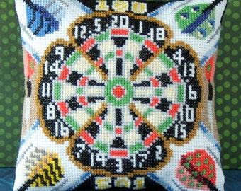 Darts Mini Cushion Cross Stitch Kit