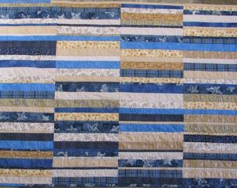 Scrappy Boy Modern Quilt Pattern