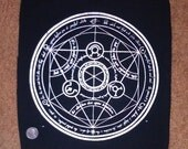 Human Transmutation Circle Backpatch