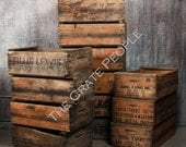 Vintage Wood Crates - Farm Crates - Hundreds Available