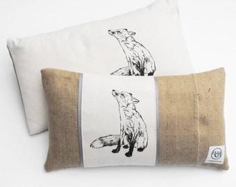 Rectangle Fox Cushion