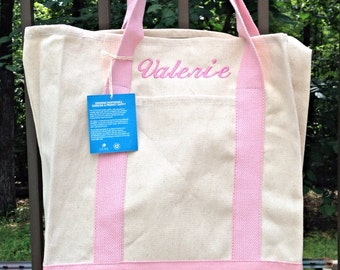 Tote Bags/Monogrammed Tote/Bridesmaid gifts