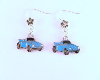 VW Convertible Beetle Earrings