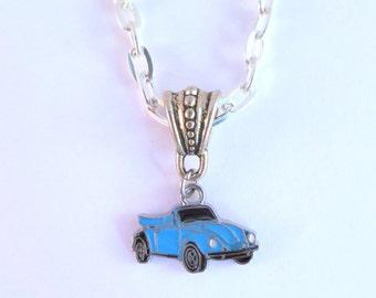 VW Convertible Beetle Necklace