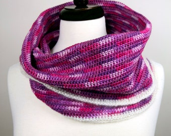 Sweet Serenity - Handmade Crochet Cowl Neckwarmer in Luxury Merino Wool