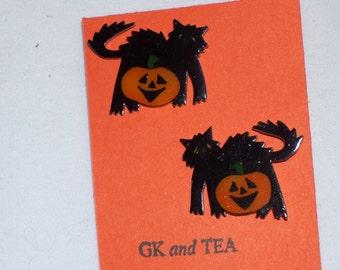 Black Cats and Pumpkins