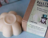 Ballyhoo Damaged Hair Formula - Rosemary Mint Conditioner Bar with Amla, Argan, Hibiscus, Niacinimide and more