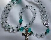 Crystal, and Green Rosary