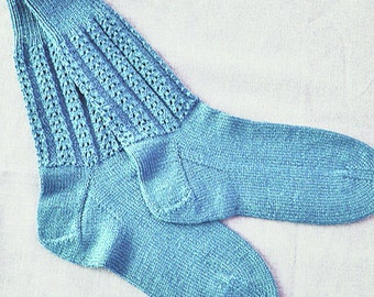 Knit Panorama Sock Pattern by Double Diamond Knits       permission to sell finished socks