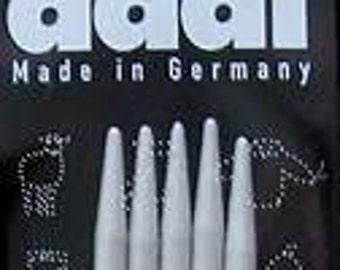 "Addi Aluminum double point needles, 2.5 mm, set of 5, 8"""