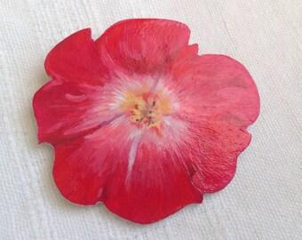 Wild rose brooch