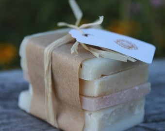 Vermont Made Artisan Soap Sampler All Natural Handcrafted Soap-Belle Savon Vermont