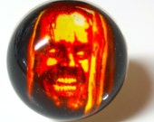 Here's Johnny Ring - Jack Torrance - The Shining - Stephen King - Pumpkin Ring - Photo Ring - Snow Globe Ring