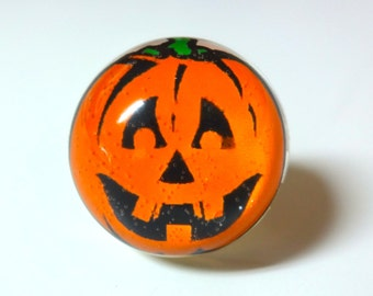 Pumpkin Ring - Halloween Ring - Jack O Lantern - Halloween Jewelry - Pumpkin Jewelry - Pumpkin - Jack O Lantern Ring - Orange - Ring