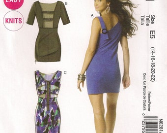 McCall's Sewing Pattern M6281 - Misses' Dresses (6-12 or 14-22)