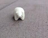 Polar Bear Totem Animal - Charm Ornament Figurine