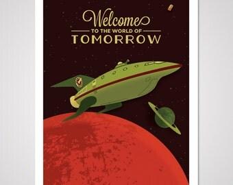 Space Print 3000 - 18x24 Art Print