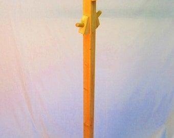 Coat Rack Stand Handmade Solid Wood