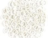 20ga 5.0mm White 30 rings Handmade Jump Rings