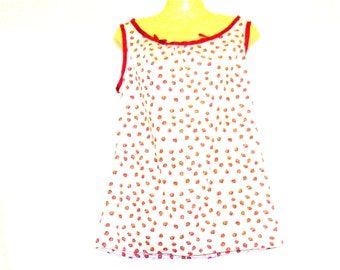Vest Top, Tops, Womens Tops, Womens Vests, Summer Top, Summer Vest, Small, By Rebeccas Clothes