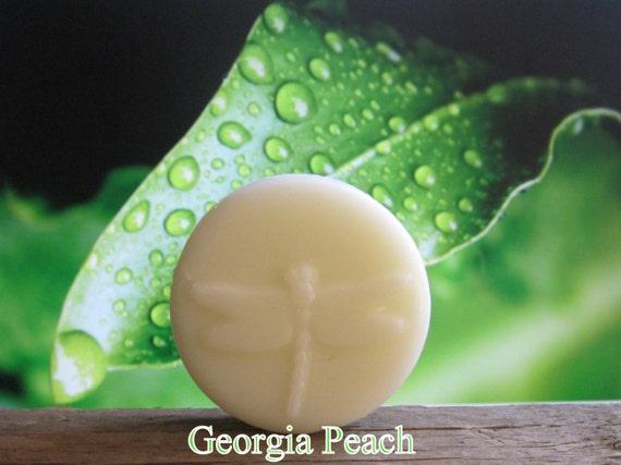 Georgia Peach Organic 100% Natural Lotion Bar 2 oz Pocket Size