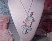 Kawaii Syringe Necklace