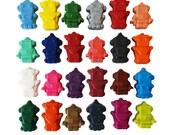 Robot crayons, set of 24, rainbow crayons, birthday gift