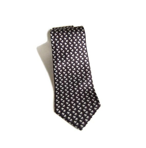 herm 232 s bowler hat necktie vintage ties handmade silk by