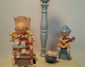Vintage 1960's IRMI  Baby's Musical Lamp
