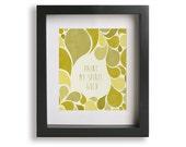 I Will Wait / Mumford And Sons - Lyric Art - teacher gift, typography art, wedding gift, gift idea, gold, home decor, wall art, wall decor