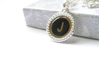 Free charm -Love -Joy - Hope -Initial Necklace , Personalized Necklace -J letter  -Alphabet Letter necklace- Initial charm- Letter necklace