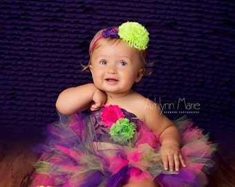 birthday tutu set, baby tutu, baby tutu set, cake smash tutu set, birthday tutu, cake smash tutu, purple tutu, first birthday tutu set, tutu