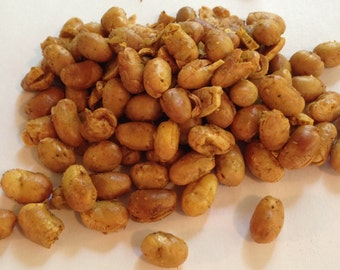 Soy Nuts BBQ  Flavored  8oz Bag  wedding favors, gifts , Soy Nuts with BBQ Nuts