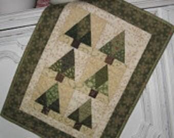 Mini Pine Tree Quilt Kit