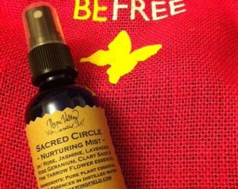 Sacred Circle Nurturing Aroma Mist (in 2oz cobalt or amber glass bottle)