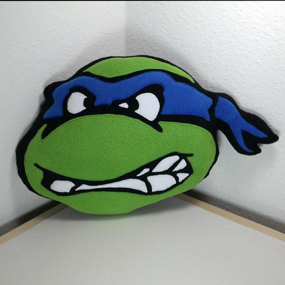 Ninja Turtle Decorative Pillow : Teenage Mutant Ninja Turtle Pillow TMNT One Handmade