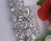 Bridal comb wedding hair comb bridal hair comb bridal hair piece bridal headpiece bridal hair jewelry bridal hair accessories bridal jewelry