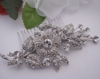 Bridal hair comb wedding hair comb wedding comb wedding hair jewelry wedding headpiece wedding hair accessories wedding hair piece bridal