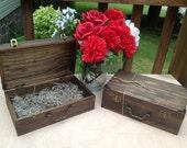 Rustic Groomsmen Gift, Groomsman Gift Box, Wooden Keepsake Box, Cool Groomsmen Gift, Cigar Box, Personalized Box, Engraved Box, Best Man