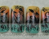 Falling Leaves Instant Acrylic Nail Set