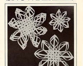 How to Weave Carolina Snowflakes