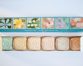 Vintage Spring Flowers Luxury Soap Collection from Puig, S.A.