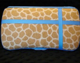 Sale animal print wipe case/ wet wipe case/ travel wipe case/ baby wipe case