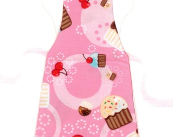 Full Size Adult Apron - Cupcakes & Sprinkles